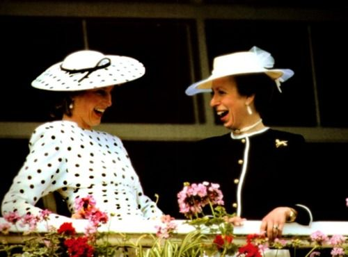 """Gurl Please."" -Lady Diana Spencer ""Naïeva, it happened all day err day."" -The Princess Royal, Anne Elizabeth Alice Louise"
