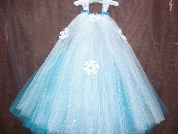 Frozen dress Frozen party dress Elsa dress by Dreambygirlboutique