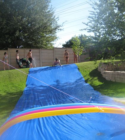 This Ain't Your Mama's Slip 'N Slide