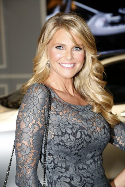 Christie Brinkley, I need her hair... and face and body