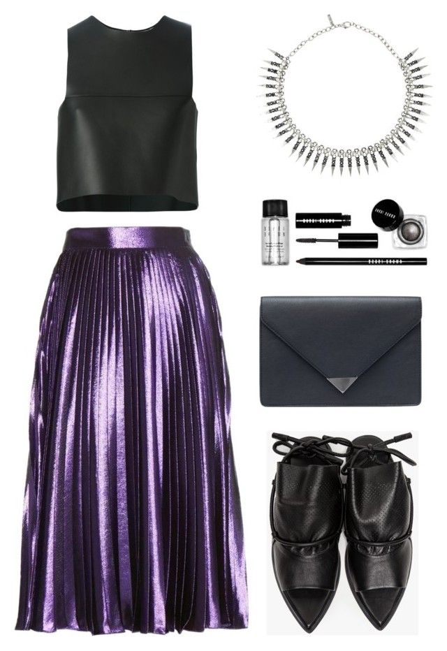 """""""Homecoming Style"""" by eva-jez ❤ liked on Polyvore featuring Gucci, Fendi, MANGO, Bobbi Brown Cosmetics, Topshop and Homecoming"""