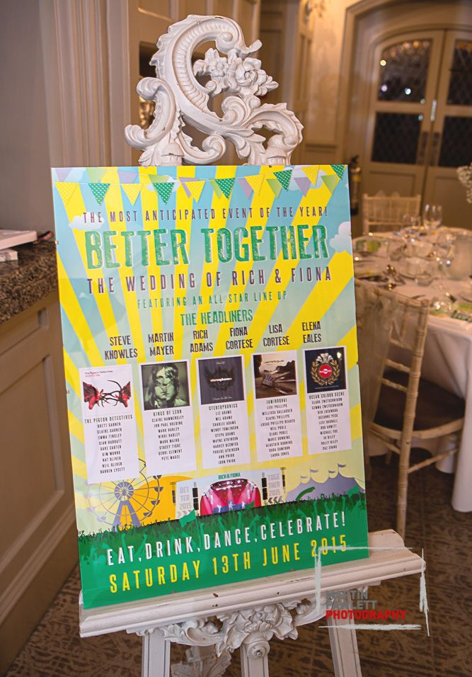 music festival wedding table plan http://www.wedfest.co/better-together-festival-wedding/