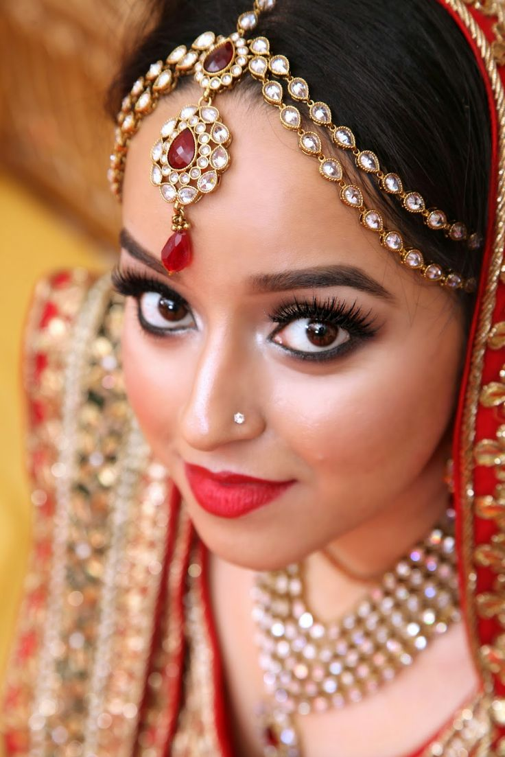 How To Do Bridal Makeup At Home Pictures : 17 Best images about Ladies First/LiLRizque on Pinterest ...