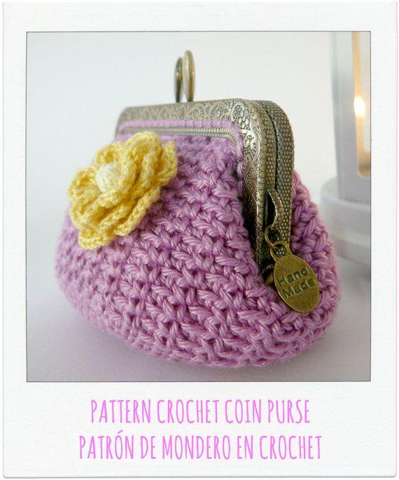 PATTERN Crochet Coin Purse {Model nº 2}