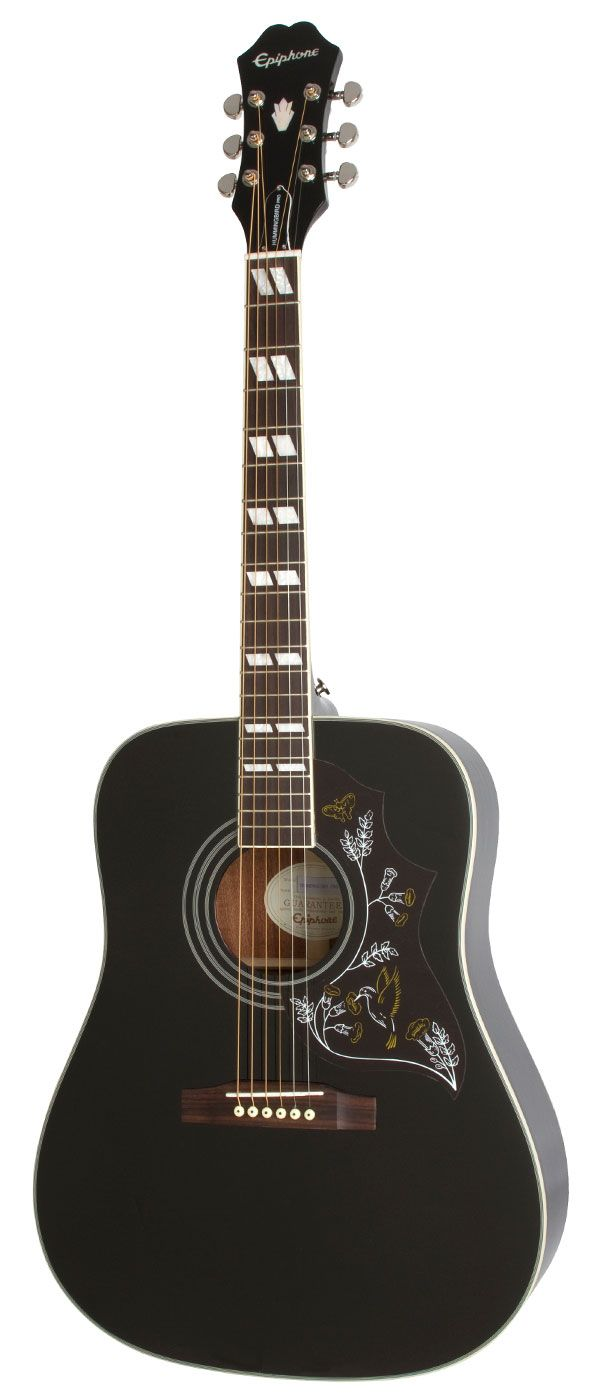 Epiphone Hummingbird Pro - the black is awesome!