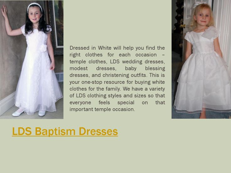 Browse this site https://www.dressedinwhite.com for more information on LDS Temple Clothing. You can brighten up any special occasion by wearing the perfect LDS Temple Clothing. LDS Temple Clothing offers a wide range of choices that will surely fit your style needs. You can choose the dress that perfectly suits you from the collection available. Follow us https://ldsbaptismdresses.wordpress.com/