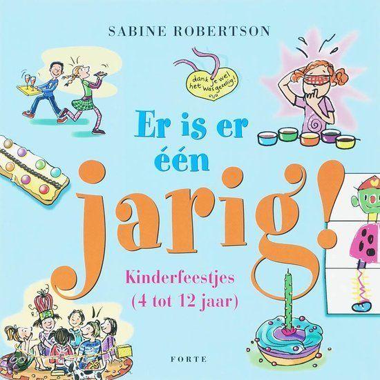 Boek met complete kinderfeestjes. Gezellig thuis! Verkrijgbaar op o.a. http://www.bol.com/nl/p/er-is-er-een-jarig/1001004005011577/