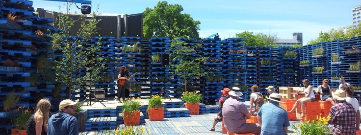 The Pallet Pavillion - Christchurch NZ