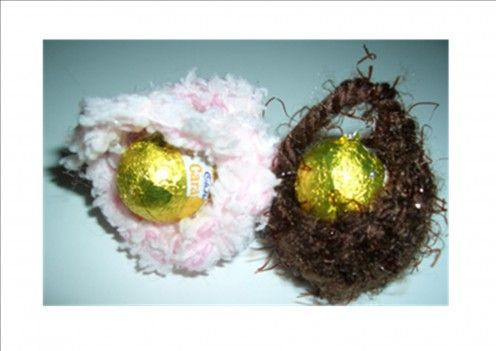 Easter baskets - easy to make