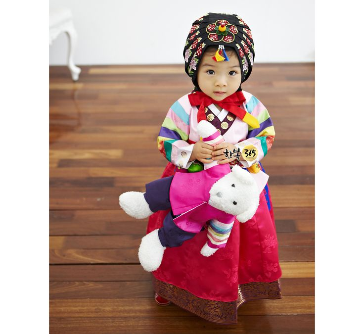 Korean traditional clothes(hanbok) for kids. Korean dress for girl, Korean clothes for boy.