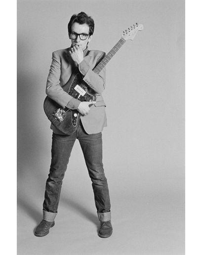 Elvis Costello invented geek chic.