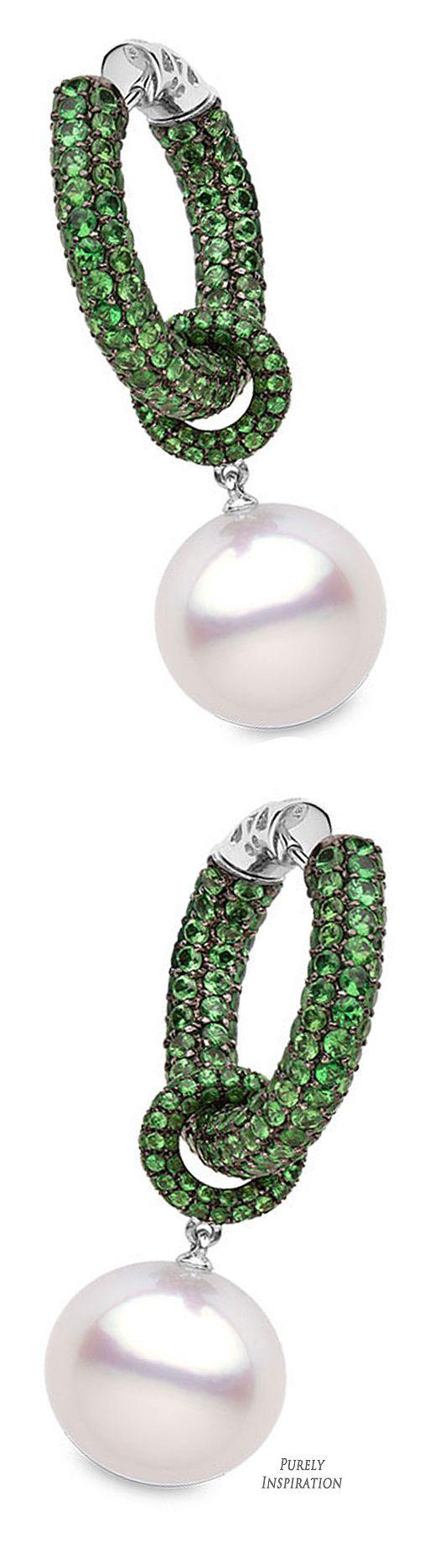 Yoko London Belgravia Collection (black gold, garnet, south sea pearls) | Purely Inspiration