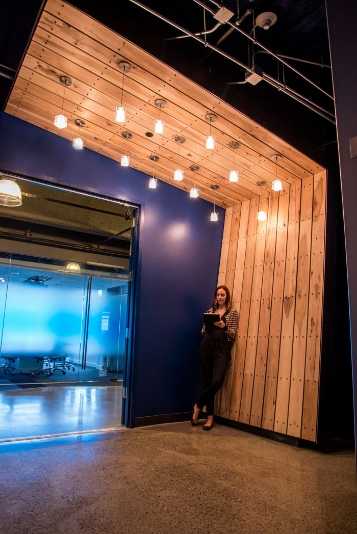 Box offices in San Francisco, USA #cooloffices #interiordesign #color