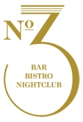 No. 3. Nightclub, Bistro. Bar. 3 Cromwell Road London SW7 2HR.