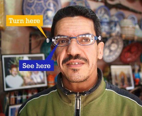 eyejusters -- adjustable glasses for vision correction without an optometrist: Correction Manual, Revolutionary Adjustable, Challenges, Their Slidelen Adjustable, Eyejust Adjustable, User Adjustable Glasses, Expen Custom, Useradjust Glasses, Glasses Simplified