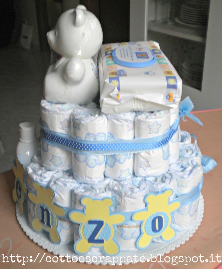 idea for diaper cake