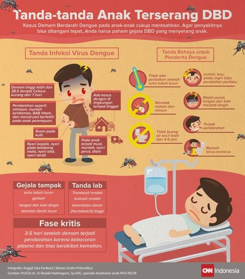 Tanda-tanda Anak Terserang Demam Berdarah Dengue
