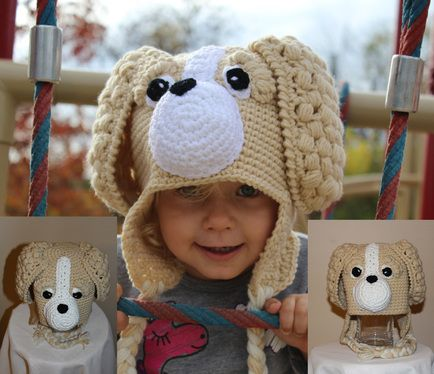 Pacha the Puppy - Handmade and crocheted by Liia - www.ReglyCreation.com