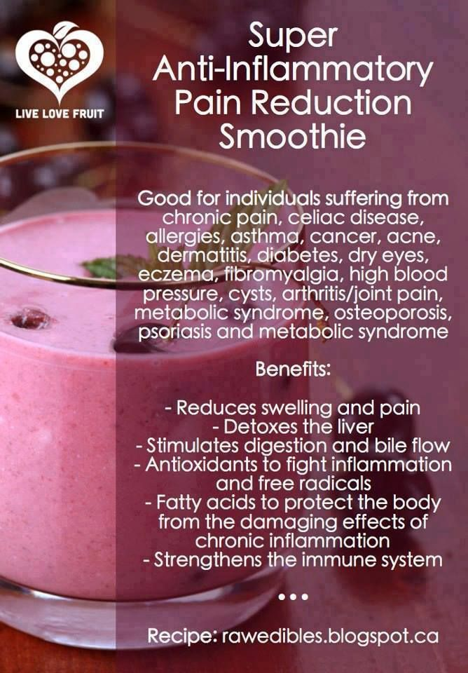 Do you suffer from chronic inflammation? This recipe is excellent for fighting inflammation as well as increasing your energy levels. It is packed with anti-inflammatory ingredients which reduce pain and swelling, and nourish your cells with body-loving antioxidants. #inflammation #chronicpain #pain