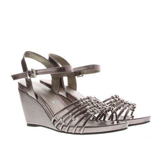 Bridesmaid shoes, Pewter. A possible colour variation - would suit our dresses.$49 at Williams