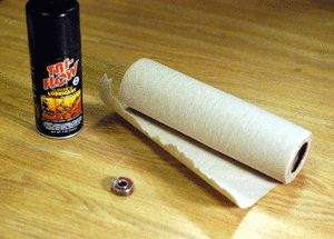 How To Clean Skateboard Bearings: How To Clean Skateboard Bearings - Setup and Tools