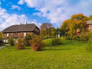 Polish countryside at autumn, Lublin, Poland