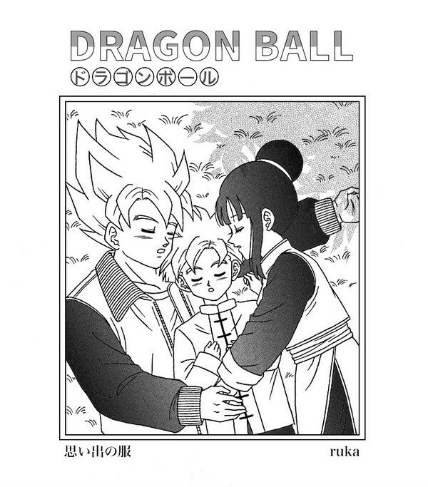Goku Chichi And Gohan The Days Before The Cell Games Db Family