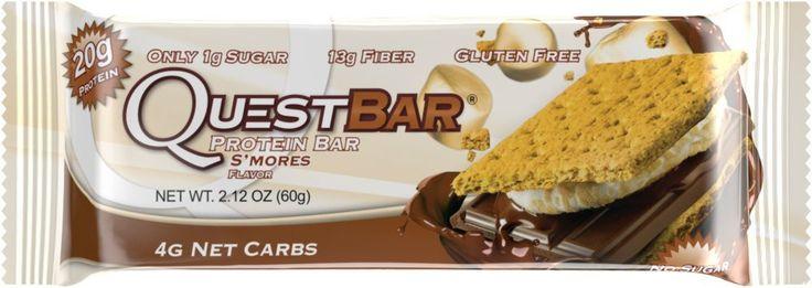 Quest Protein Bar S'mores Flavor 2.12 oz