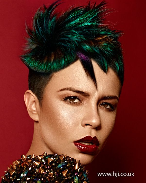 Martin Crean – 2013 Wales and South West Hairdresser of the Year Finalist Collection BHA 2013