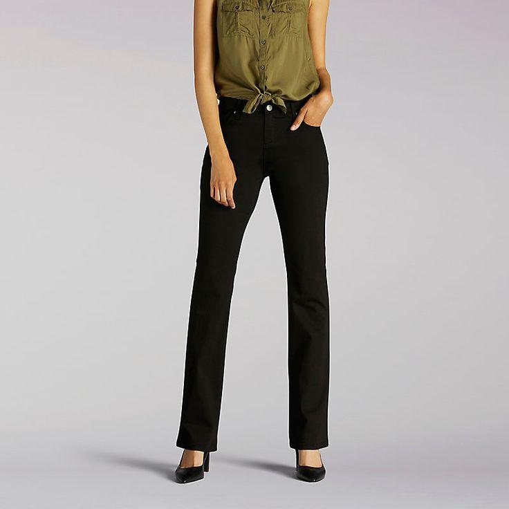 Lee Women's Platinum Label Comfort Fit Nellie Barely Boot - Petite Jeans (Size 16 SlimP)