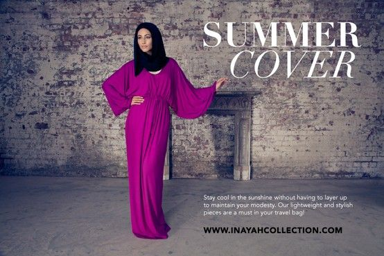 Shop from a range of abayas, jilbabs, kaftans and modest dresses ideal for summer and vacations! Made using soft breathable fabrics and unique colours to complement your summer wardrobe!   www.inayahcollection.com