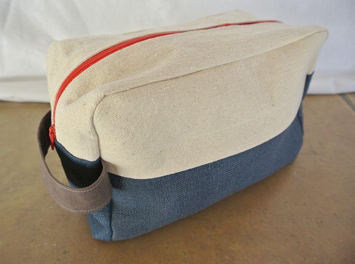Portside Dopp Kit by Grainline Patterns | Inspired by Topo Designs