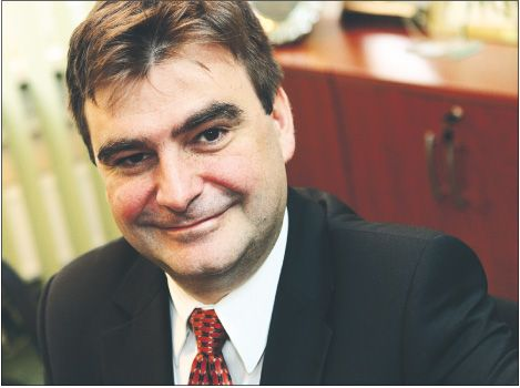 dr Mariusz Siwoń - prezes SP Silesia Superior, radca prawny, prezes Regionalnej Izby Obrachunkowej w Katowicach