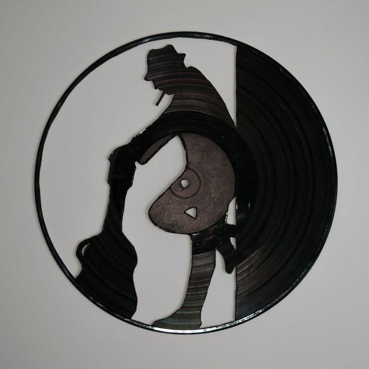 Artist Vinyl Wall Decoration