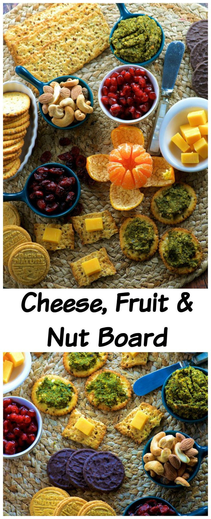 Nut, Fruit and Cheese Board