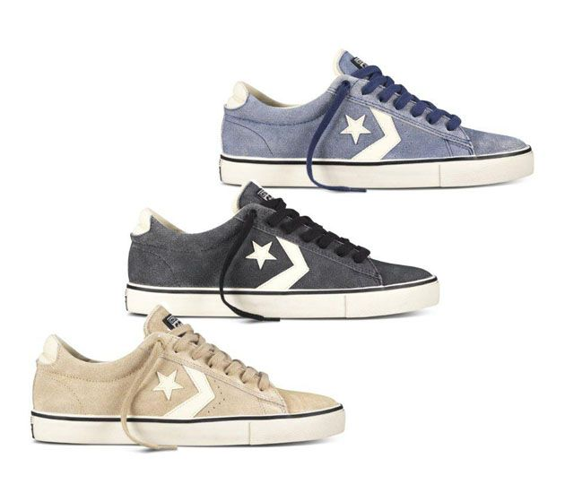 Converse Pro Leather Vulc-Washed Suede Pack