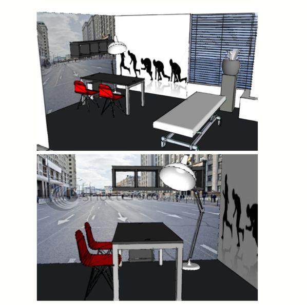 fysiotherapie praktijk ontwerp door Marlouk Mulder Stylingmenu