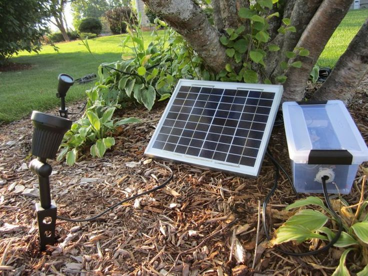 Make a high powered solar lighting system so no wires would ever need to be run to the back ...