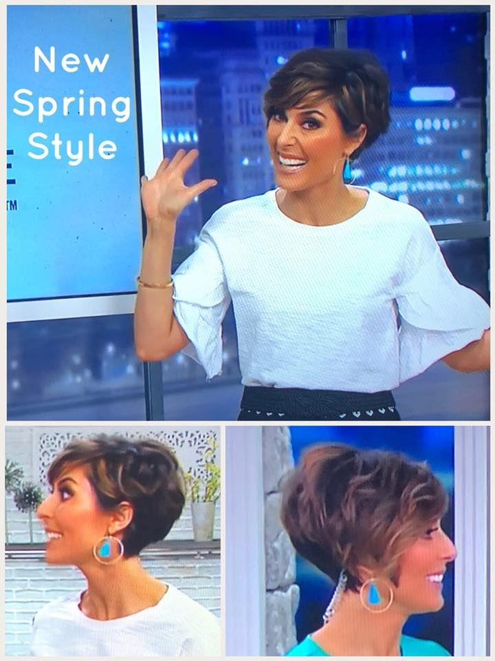 Amy Stran Hair Too Short For Me But Love Her Style