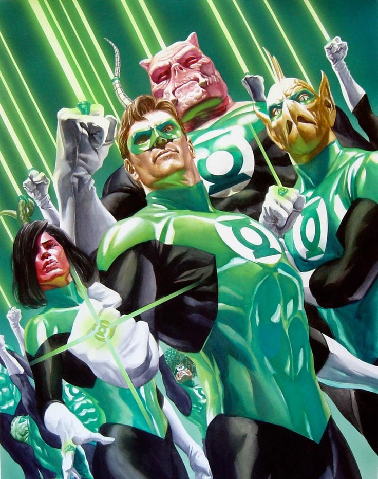Green Lantern Corp. by Alex Ross