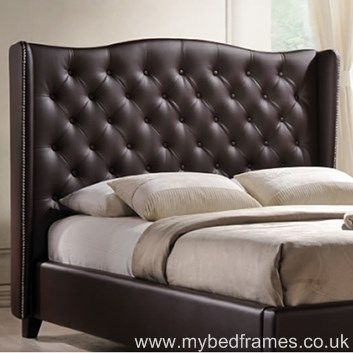 The Romana Is The Perfect Bedroom Centre Piece. This Stunning  Classic Looking Bed Frame. Wingback HeadboardTufted HeadboardsLeather ...