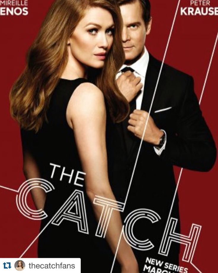 Mireille Enos & Peter Krause The Catch ABC