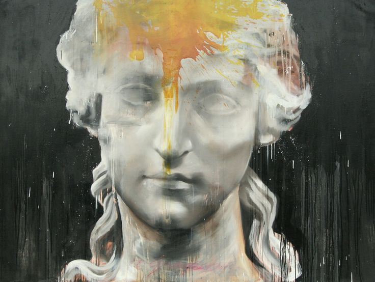 Saatchi Online Artist: Carl White; Oil, Painting the sun from yellow