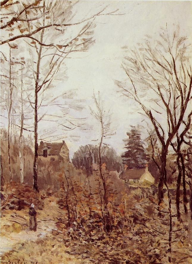 "Alfred  SISLEY ""Automne Louveciennes"""