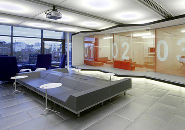 Redbull en londres reino unido oficinas creativas for Architecture moderne londres