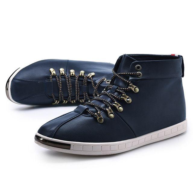 Marque de luxe En Cuir Véritable Militaire Uniforme Bottes Gothique Punk Martin Plate-Forme mi-mollet Bottes Steampunk Chaussures Bourgogne Marine