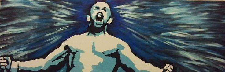 Chuck Liddell Painting