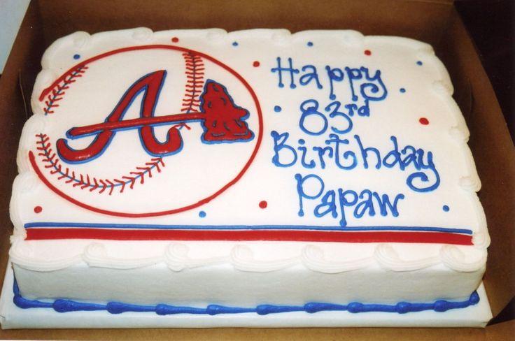 ATLANTA BRAVES CAKE - Google Search