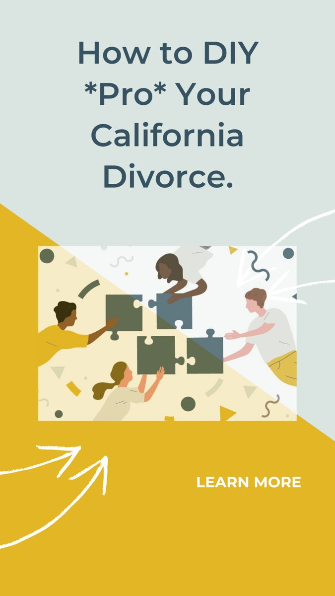 How To Diy Divorce In California Simple Divorce Process Hello Divorce In 2020 Divorce Process Diy Divorce Divorce