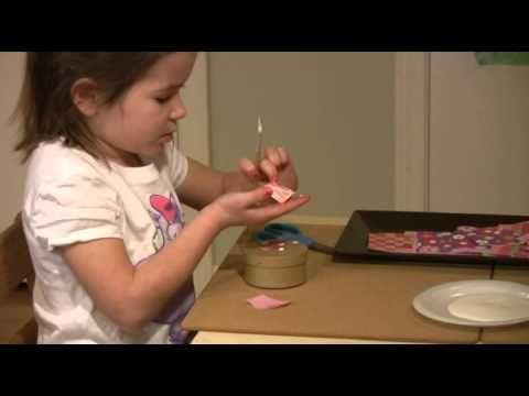 Montessori Practical Life Lesson - Collage